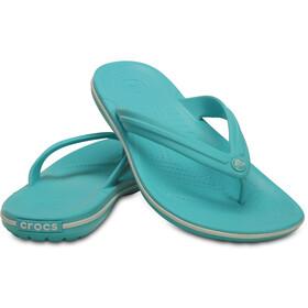 Crocs Crocband Sandali, pool/white